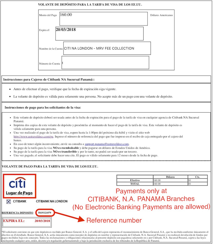 Citi Application Status >> Apply for a U.S. Visa | Bank and Payment Options/Pay My ...